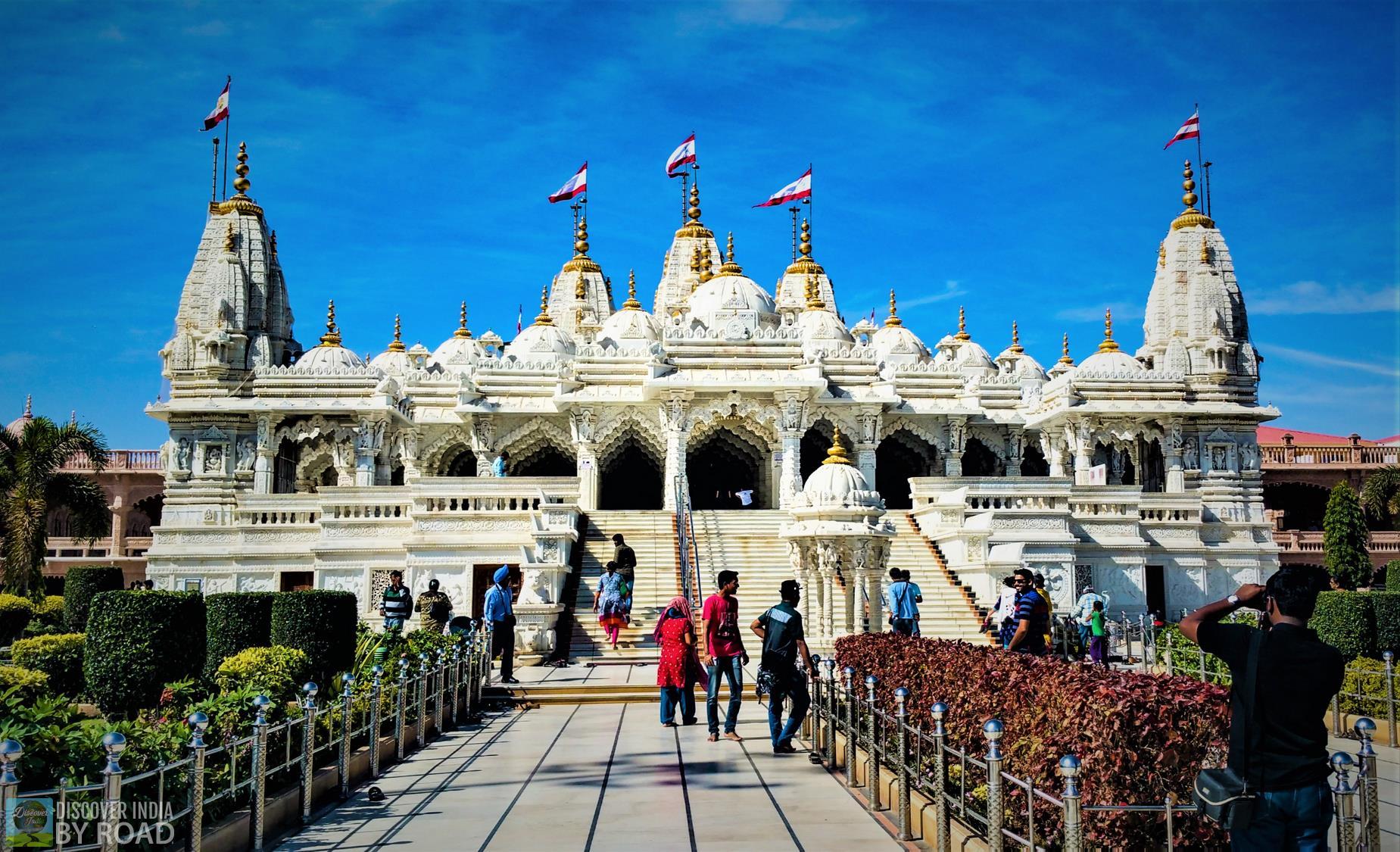 Bhuj Main Swaminarayan temple day time view