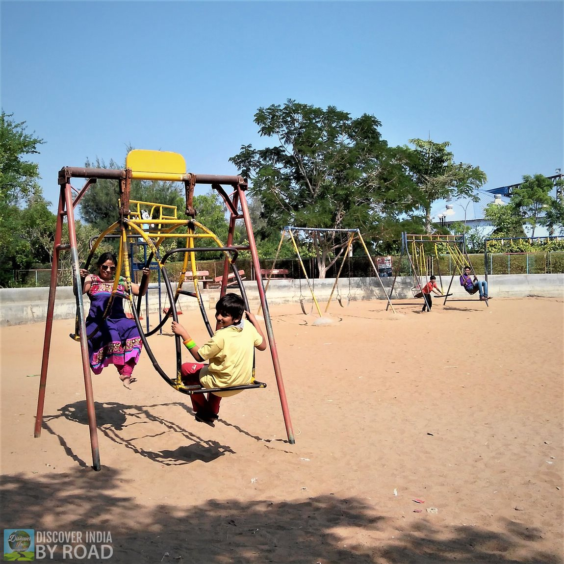 Kids Play Area at hill garden bhuj