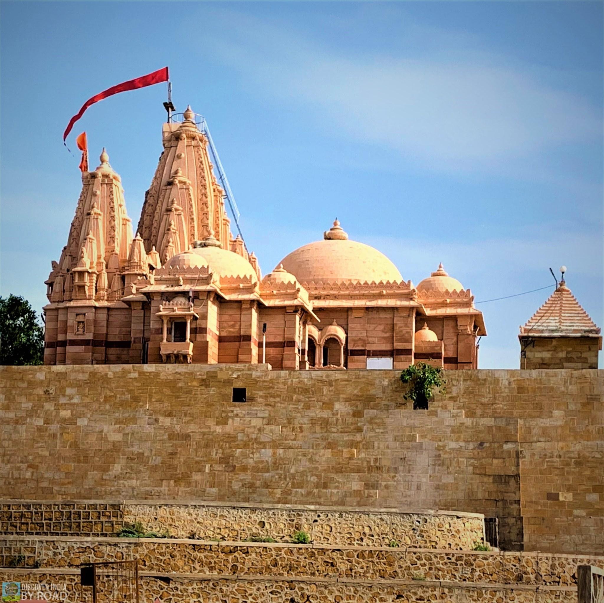 View of main Koteshwar Mahadev temple
