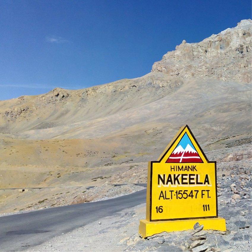 Naki La pass