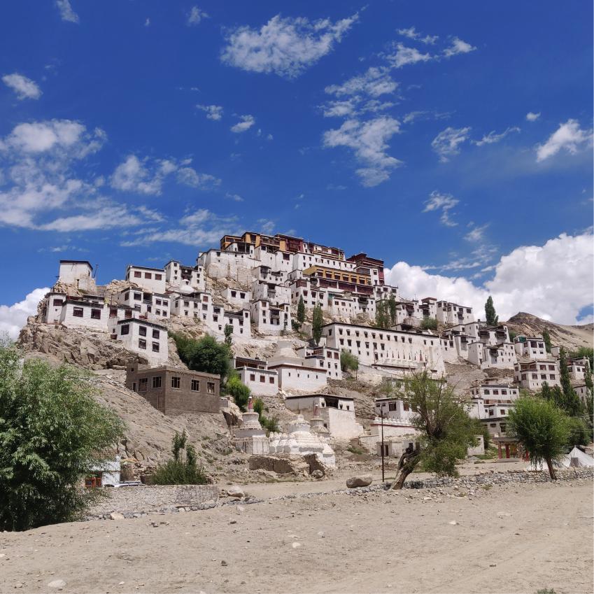 Thiksay Monastry near Leh