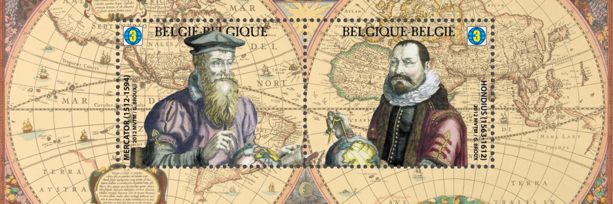 Mercator's 1569 world map
