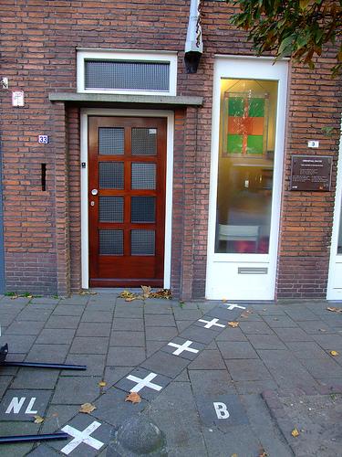 Baarle front door