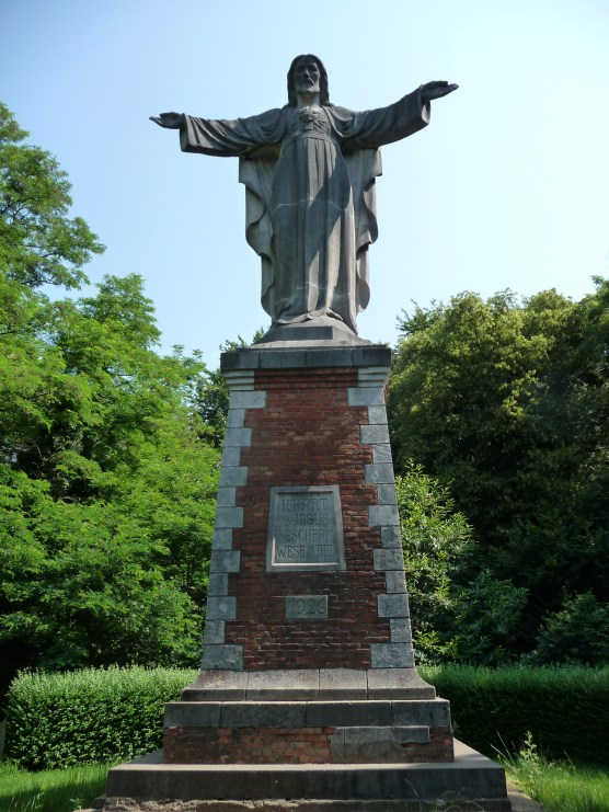 The Sacred Heart monument