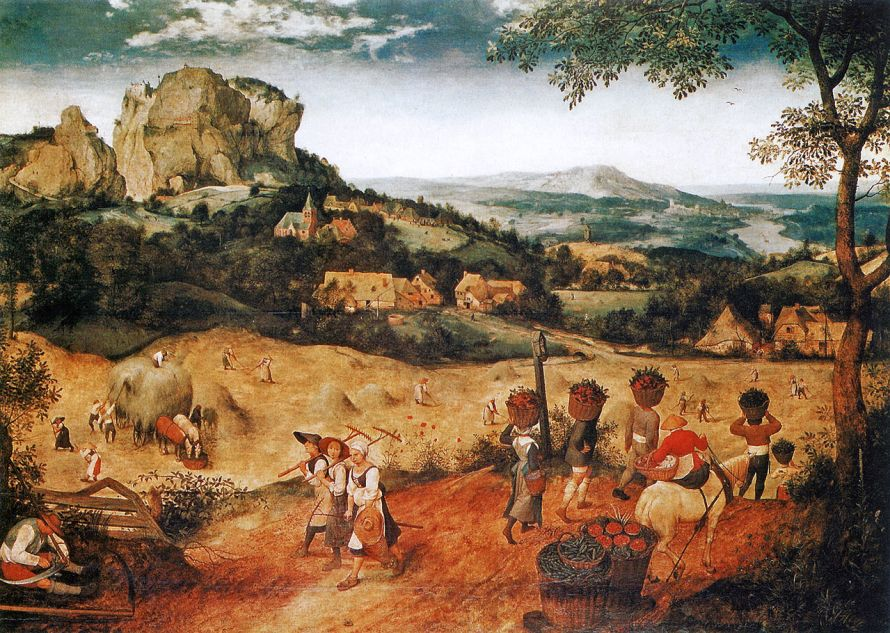 Haymaking - Bruegel