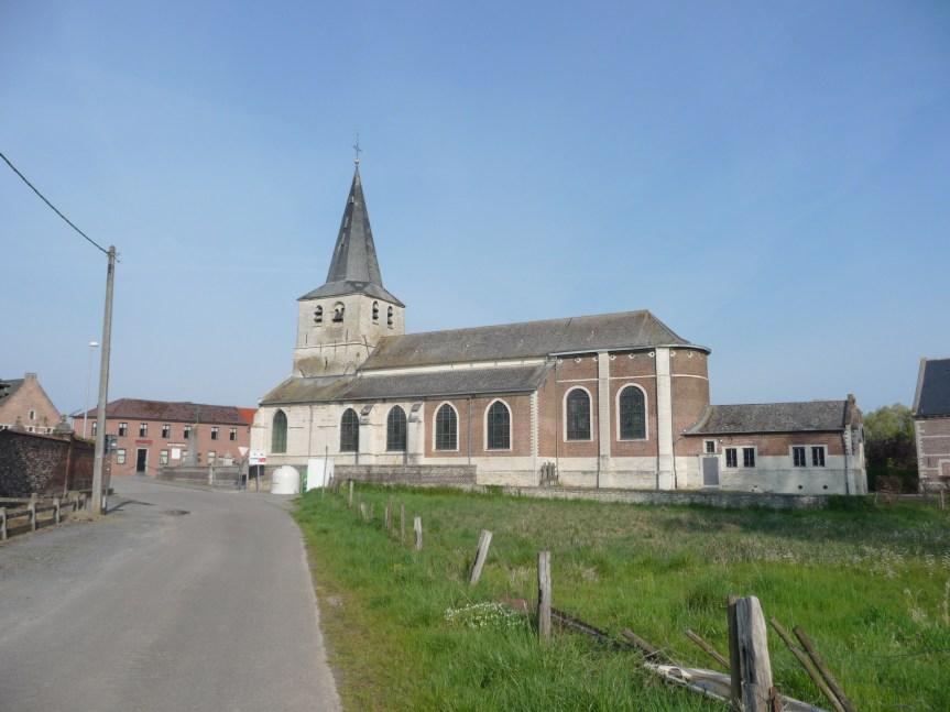 Walking near Meldert begins at Meldert church