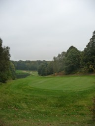Golf course in Bercuit, Belgium