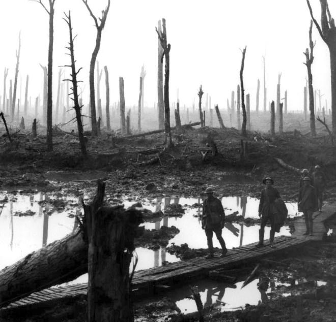 first World War devastation