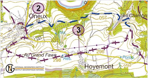 GR 517 Oneux new route