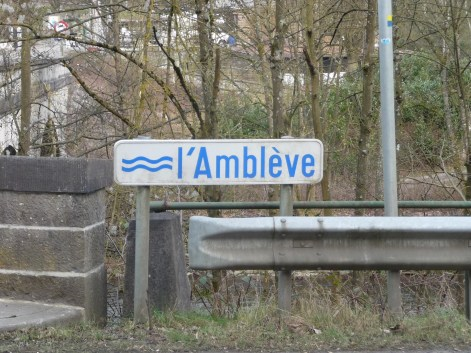 The River Ambeleve in Martinrive