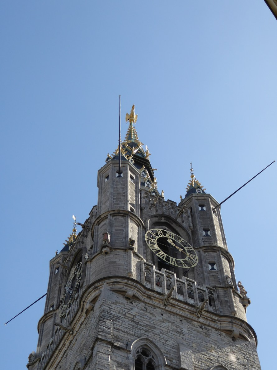 Ghent-Belfry tower
