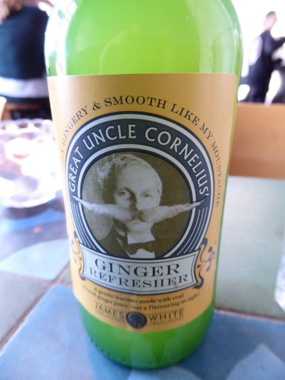 Uncle Cornelius ginger beer