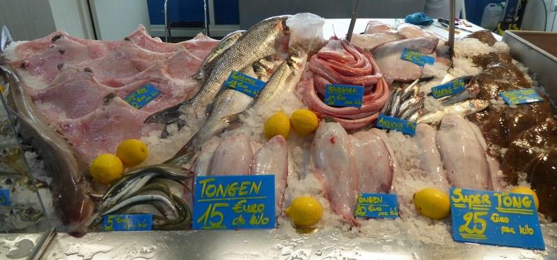 Fish market Oostende