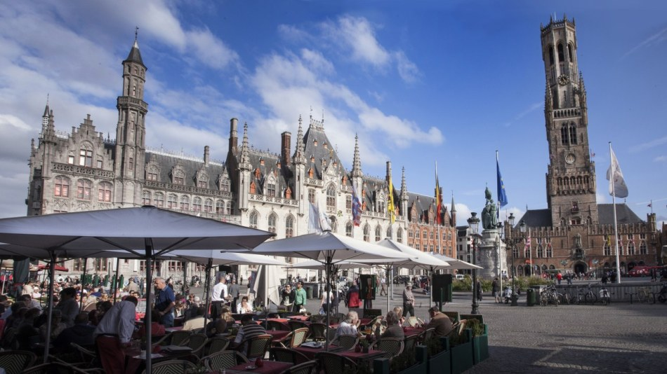 Markt Square and Belfry | © Jan D'Hondt, Visit Bruges