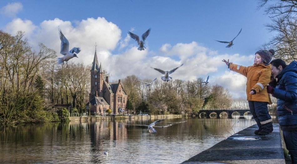 Minnewater | © Jan D'Hondt, Visit Bruges