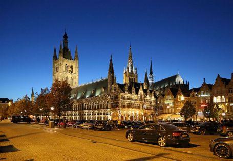 The cloth industry of Flanders in the Middle Ages