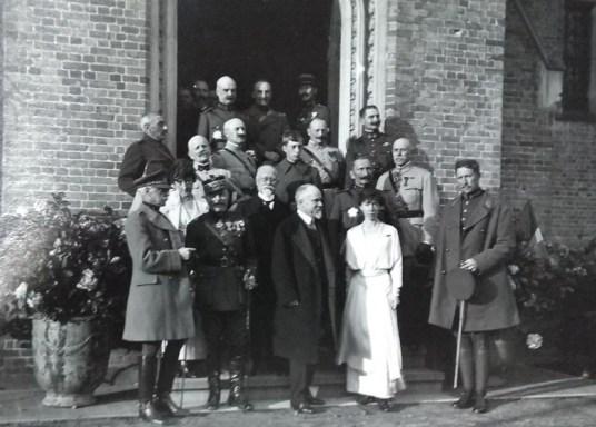 Loppem Castle, Belgium, 1918