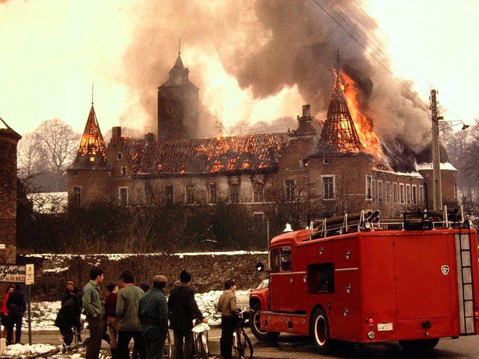 When the Grand Commandery was partially burnt down