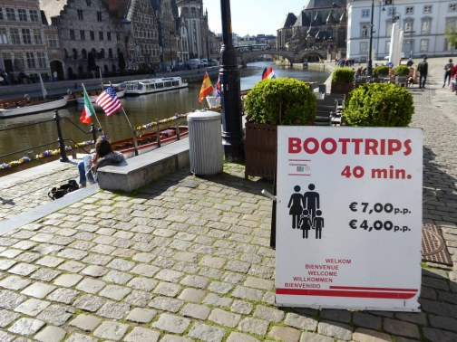 Gent boat trips