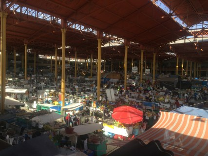A giant market that we wandered into