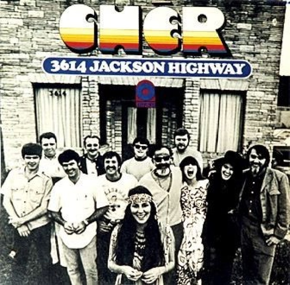 Cher's 3614 Jackson Highway Album Cover