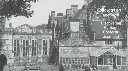 Newcastle Libraries Jesmond Dene House photo c1964
