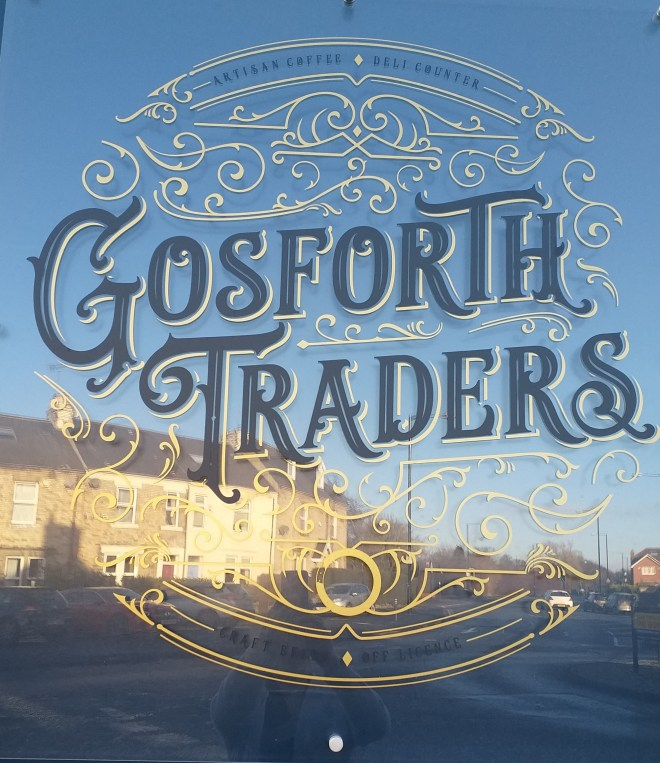 Sign for Gosforth Traders