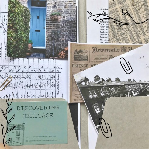 Discovering Heritage House History Pack contents