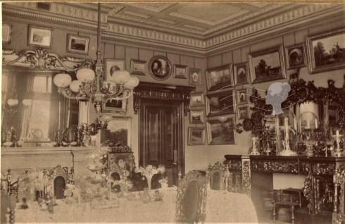 Dr Gibb of Sandyford Park dining room. Discovering Heritage