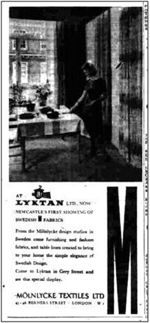 News article photo Lytkan Swedish fabrics