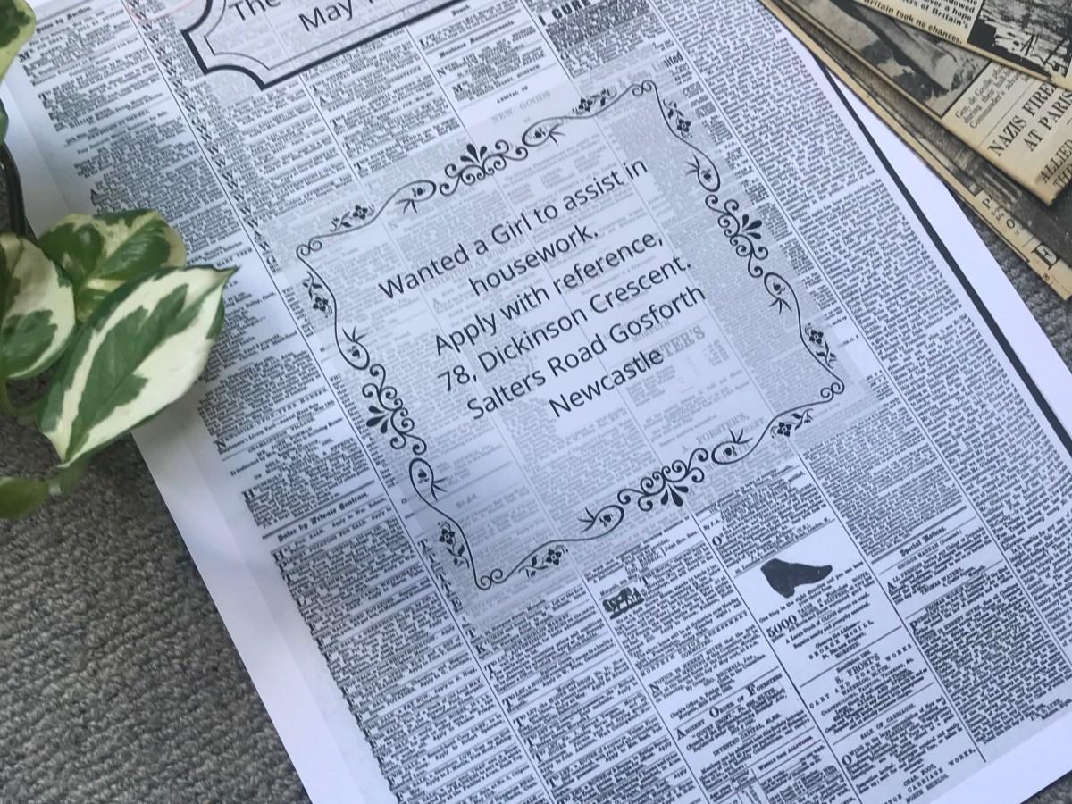 Newspaper highlight May 12 1888