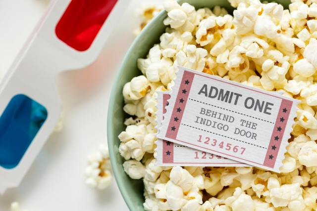 Make family movie night an event