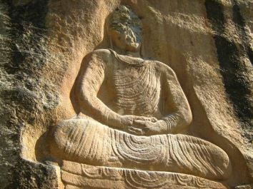 Great Buddha of Jahanabad, Swat. The Jahanabad Buddha, etched high on a huge rock face in the 6th - 7th century CE, is one of the largest such carvings in South Asia. It was attacked and defaced in the fall of 2007 by the Pakistani Taliban.