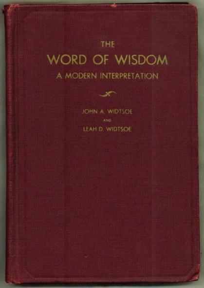 Widstoe 1937 Edition