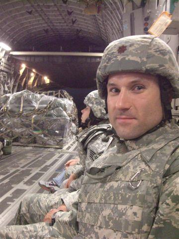 Major Harston_Deployed to Iraq