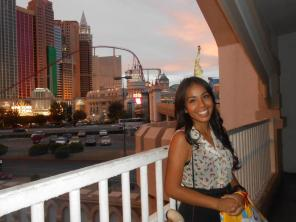 tourist in New York, New York Las Vegas