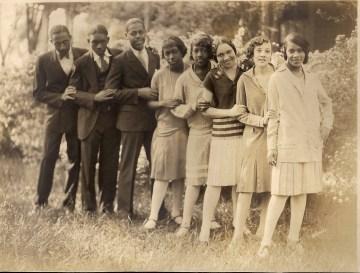 Tuskegee Institute Commerce Class 1929