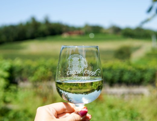 Crane Creek Vineyards - www.discoveringyourhappy.com