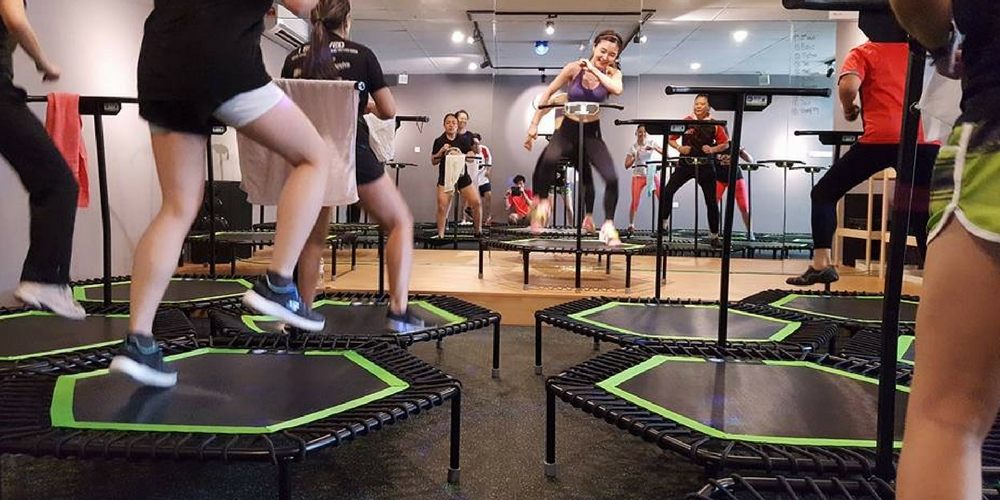 jumping fitness trampoline jumping aerobics classes in bukit jalil kl. Black Bedroom Furniture Sets. Home Design Ideas