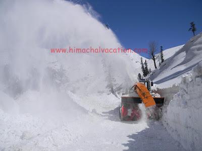 Snow cutter