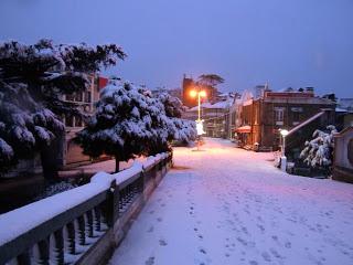 Shimla after snowfall