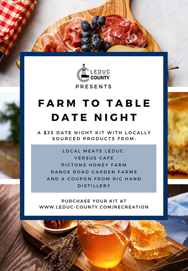 Leduc County Farm to Table Date Night Kit