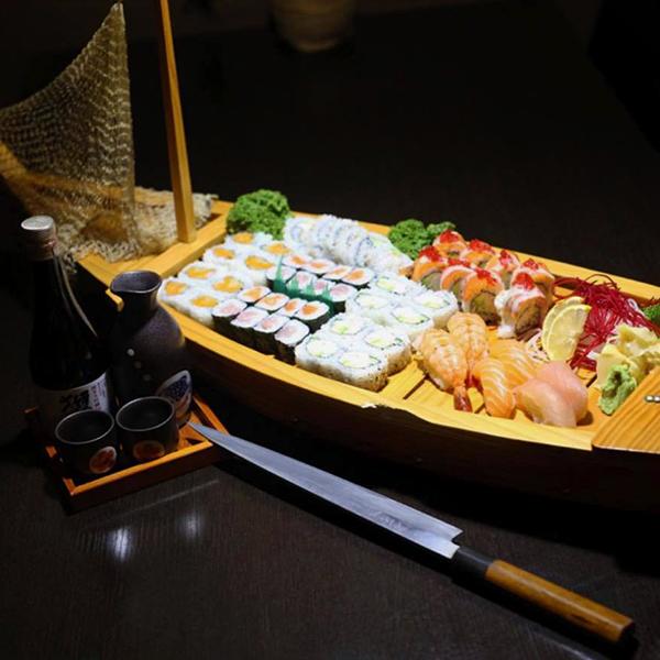 Sushi Boat from the Sushi Factory - Leduc, AB