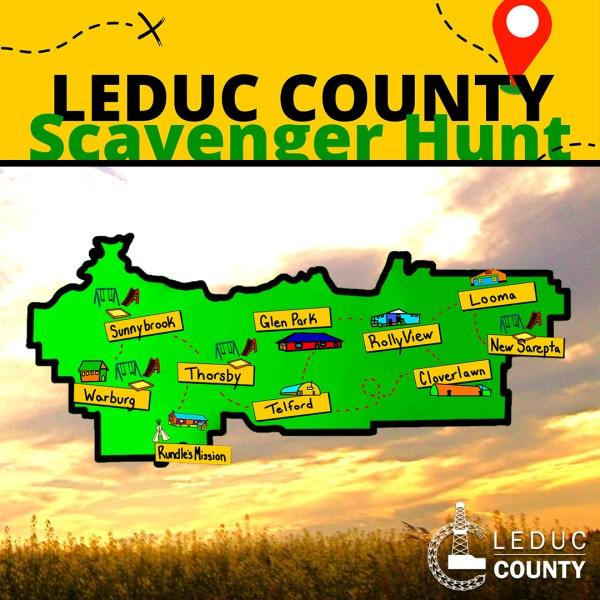 Leduc County Scavenger Hunt