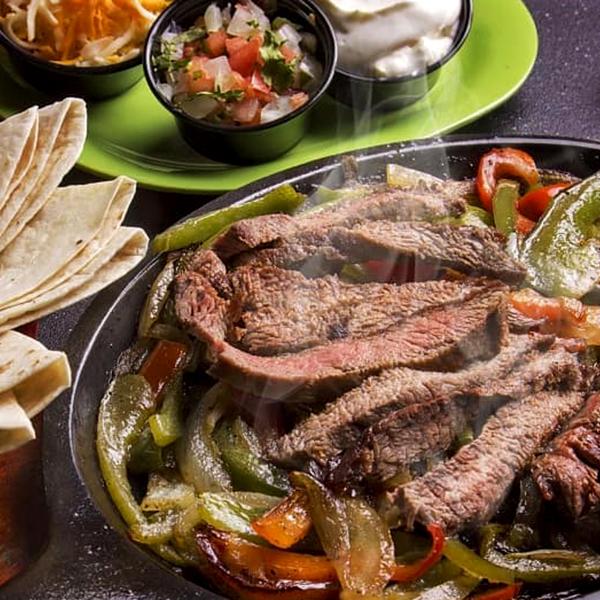 Beef Fajitas - Habaneros Mexican Grill