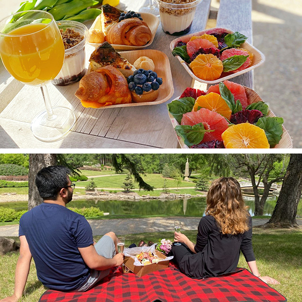 Brunch Boxes & Twilight Picnic Experiences - June 2021 - University of Alberta Botanic Garden