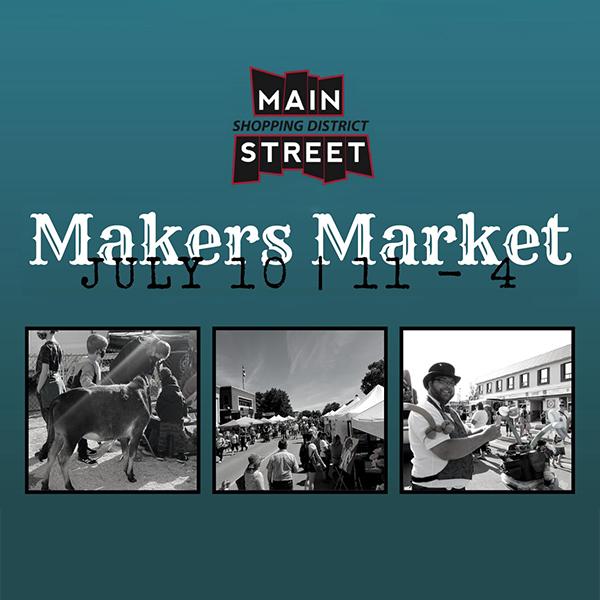Main Street Leduc Makers Market - July 10, 2021 - Main Street Leduc