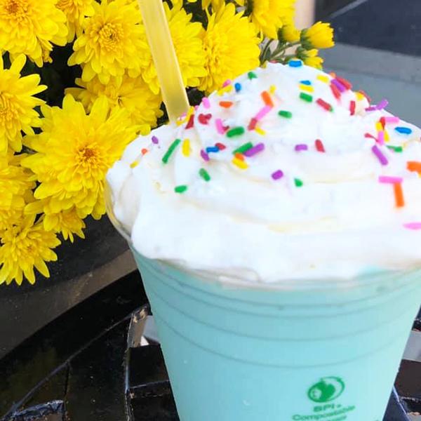 Milkshake from Jef's Cafe - Beaumont, AB
