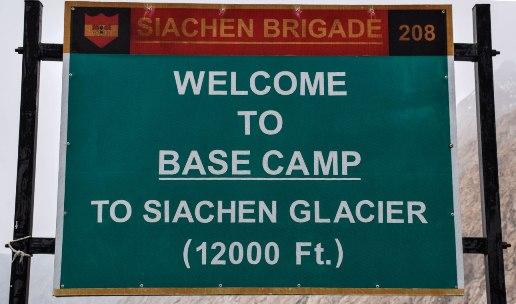 Siachen Glacier Base Camp