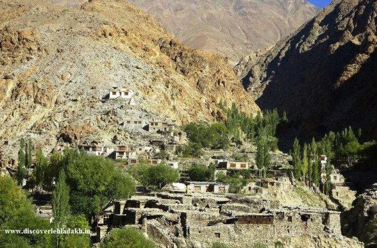 Dah Hanu villages of Ladakh